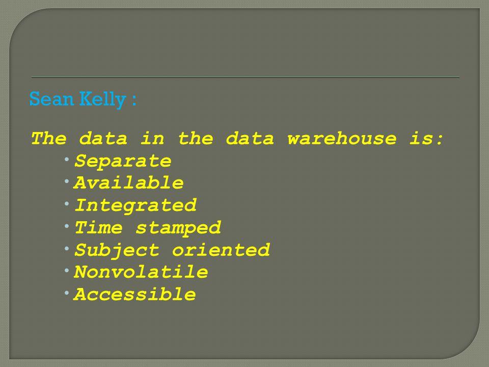 Data Mart adl bagian/subset dari data warehouse yang sederhana (bag.