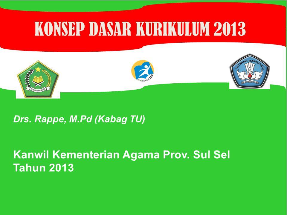 Drs.Rappe, M.Pd (Kabag TU) Kanwil Kementerian Agama Prov.