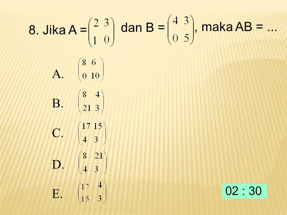 x 8 6 6 10 7. Daerah yang diarsir pada gambar di bawah ini adalah himpunan selesaian suatu sistem pertidaksamaan. Nilai maksimum fungsi obyektif f(x,y
