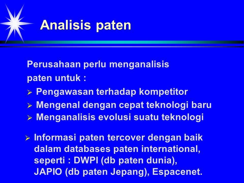 Contoh data paten dari database WPIL -1- (WPIL) AN - 94-035020/04 TI - Antifouling paint compsn.