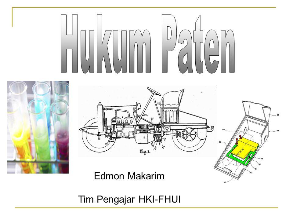 Edmon Makarim Tim Pengajar HKI-FHUI