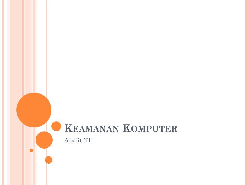 K EAMANAN K OMPUTER Audit TI