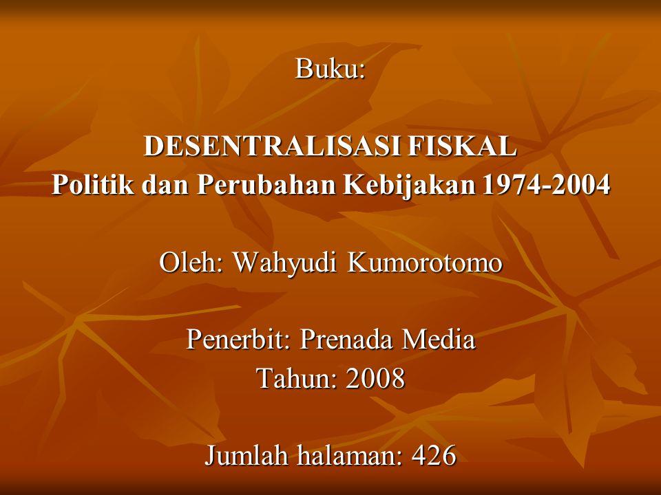 INSTRUMEN DESENTRALISASI FISKAL 1.
