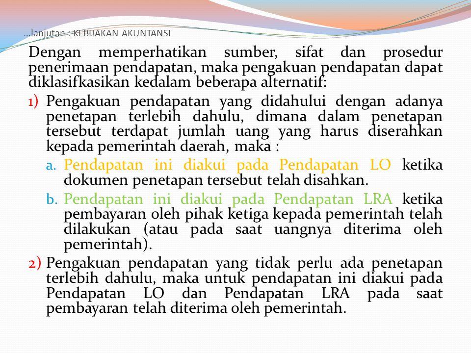 …lanjutan : DOKUMEN (SUMBER PENCATATAN) Dokumen standar yang diperlukan dalam pelaksanaan pembukuan adalah :