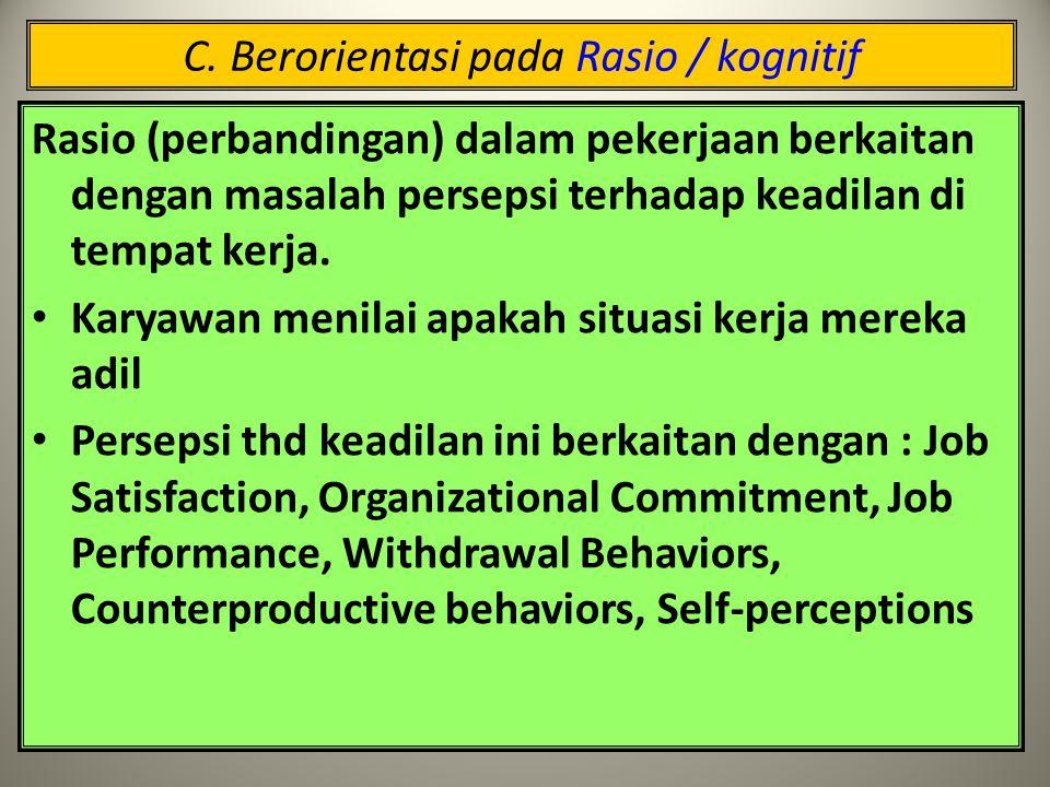 B. Berorientasi pada Rancangan Pekerjaan Merancang pekerjaan untuk tim : Tim harus dapat diidentifikasi, melakukan pekerjaan yang spesifik dan dapat m