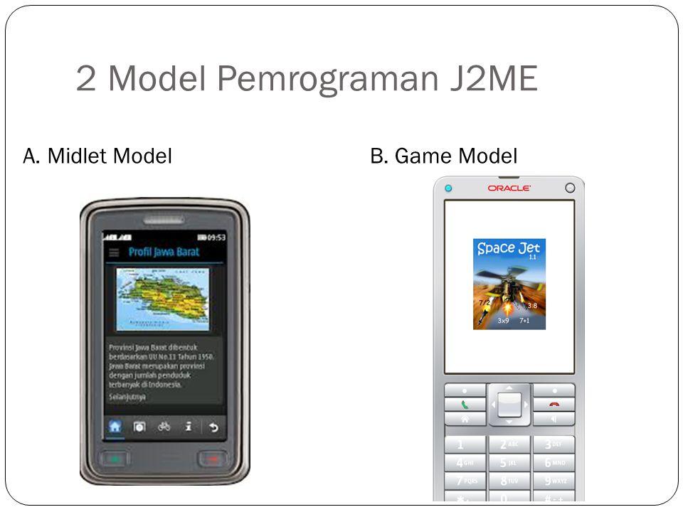 J2me Game Model Timer Thread GameCanvas Sprite