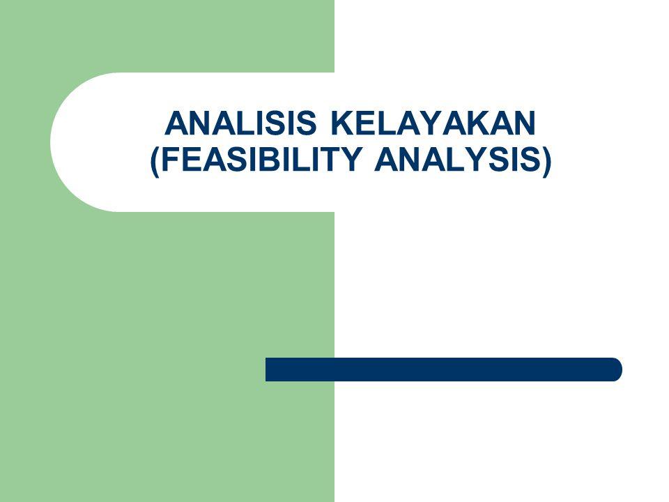 Matrik Analisis Kelayakan (Feasibility Analysis Matrix) Alat/tool yang digunakan untuk merangking sistem kandidat