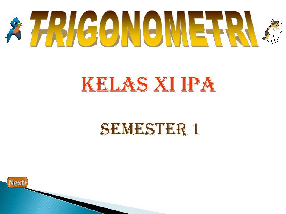 KELAS XI IPA SEMESTER 1