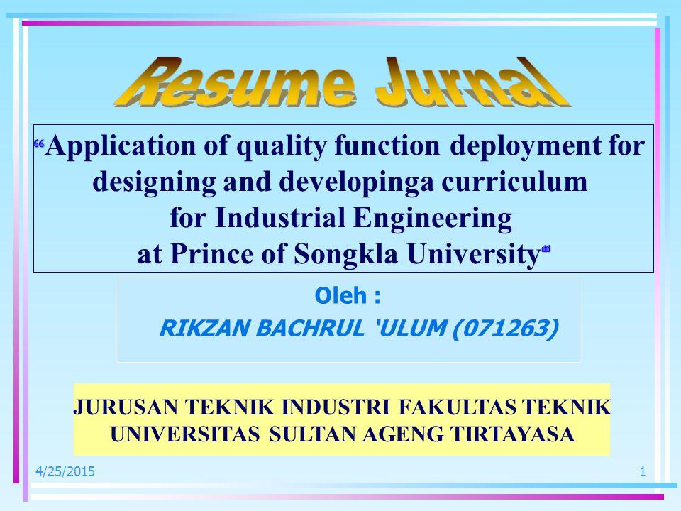 4/25/20152 Pada tahun-tahun belakangan ini, universitas di Thailand telah dikembangakan dengan kecepatan tinggi.