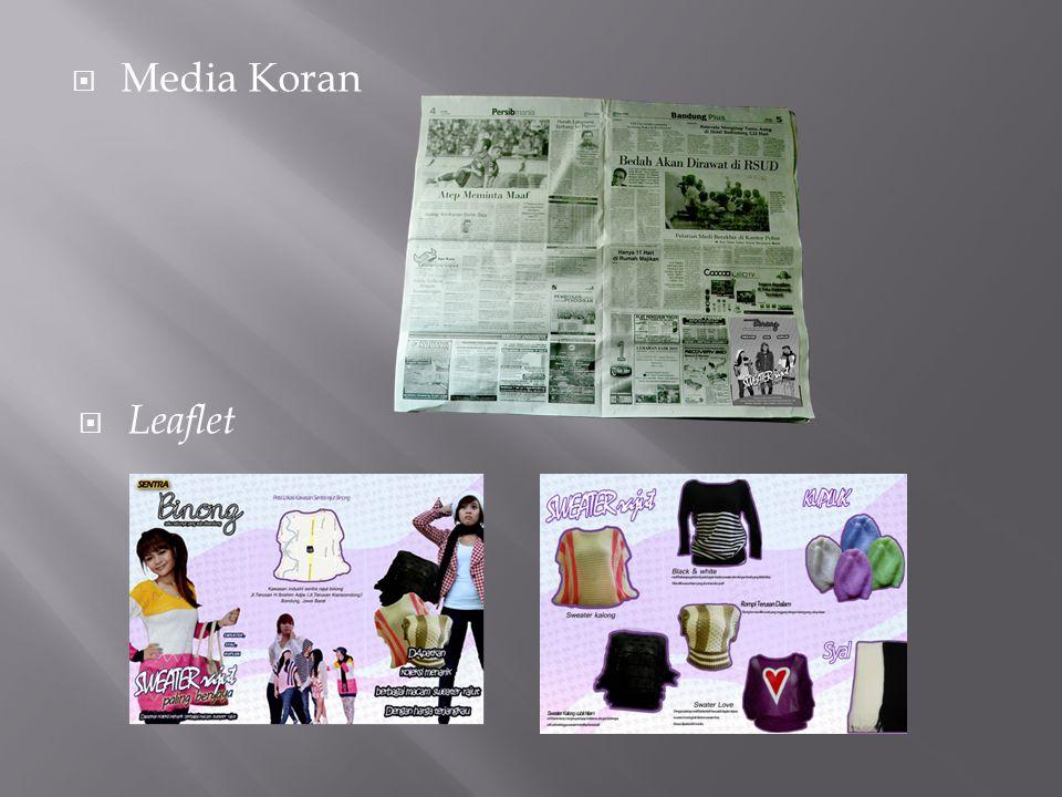  Media Koran  Leaflet