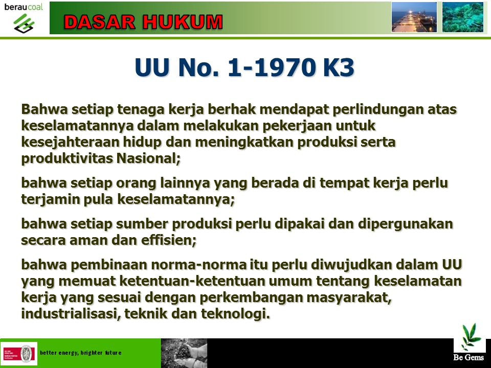 """4/25/20155 Pasal 2, Ayat 1, """"Jika pemegang Kuasa Pertambangan (KP) tidak dapat memimpin atau mengawasi sendiri ditempat pekerjaan tambangnya, maka diw"""