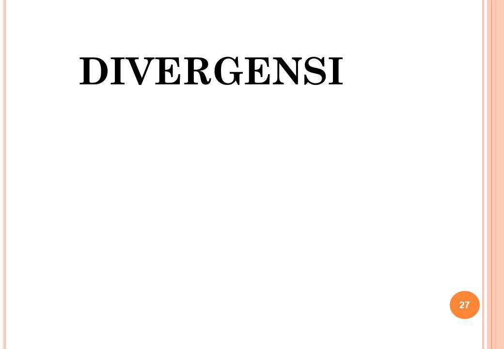 DIVERGENSI 27