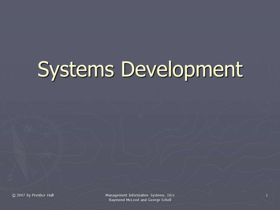 Learning Objectives ► Recognize the systems approach as the basic framework for solving problems of all kinds.