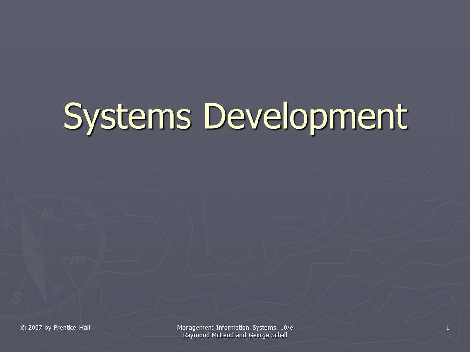 System Development Tools ► Pemodelan proses pertama kali dilakukan dengan flowchart(diagram alur)  ISO standards  Menggunakan 20 lebih simbol ► Data flow diagram(DFD) adalah penyajian grafis dari sebuah sistem yang mempergunakan empat bentuk simbol untuk mengilustrasikan bagaimana data mengalir melalui proses-proses yang saling terhubung.