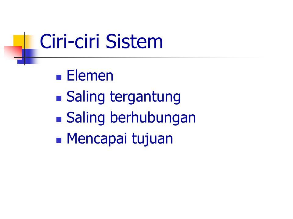 Pendekatan Sistem Input (masukan) Proses (kegiatan) Output (keluaran/hasil)