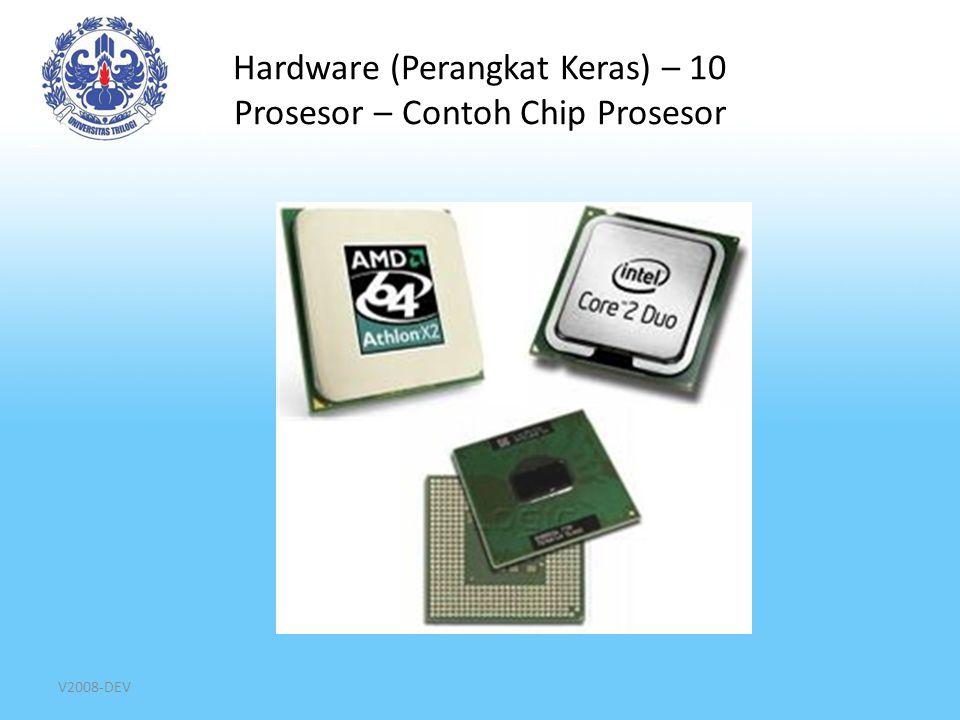 V2008-DEV Hardware (Perangkat Keras) – 10 Prosesor – Contoh Chip Prosesor