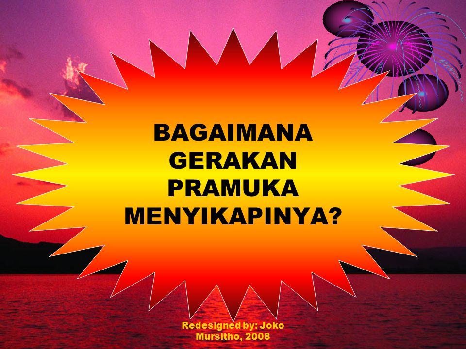Redesigned by: Joko Mursitho, 2008 Peran dan Kepedulian Sebagai umat Islam dan khalifah Allah di muka bumi ini, kita sangat peduli akan masalah-masalah diatas, namun apa peran dan kontribusi kita untuk menjadikan Indonesia ini menjadi negara yang makmur, sejahtera dan madani .