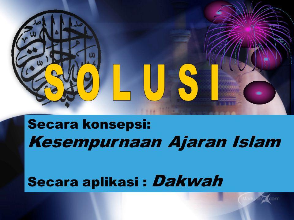 Peran dan Kepedulian Sebagai umat Islam dan khalifah Allah di muka bumi ini, kita sangat peduli akan masalah- masalah diatas, namun apa peran dan kontribusi kita untuk menjadikan Indonesia ini menjadi negara yang makmur, sejahtera dan madani ?.