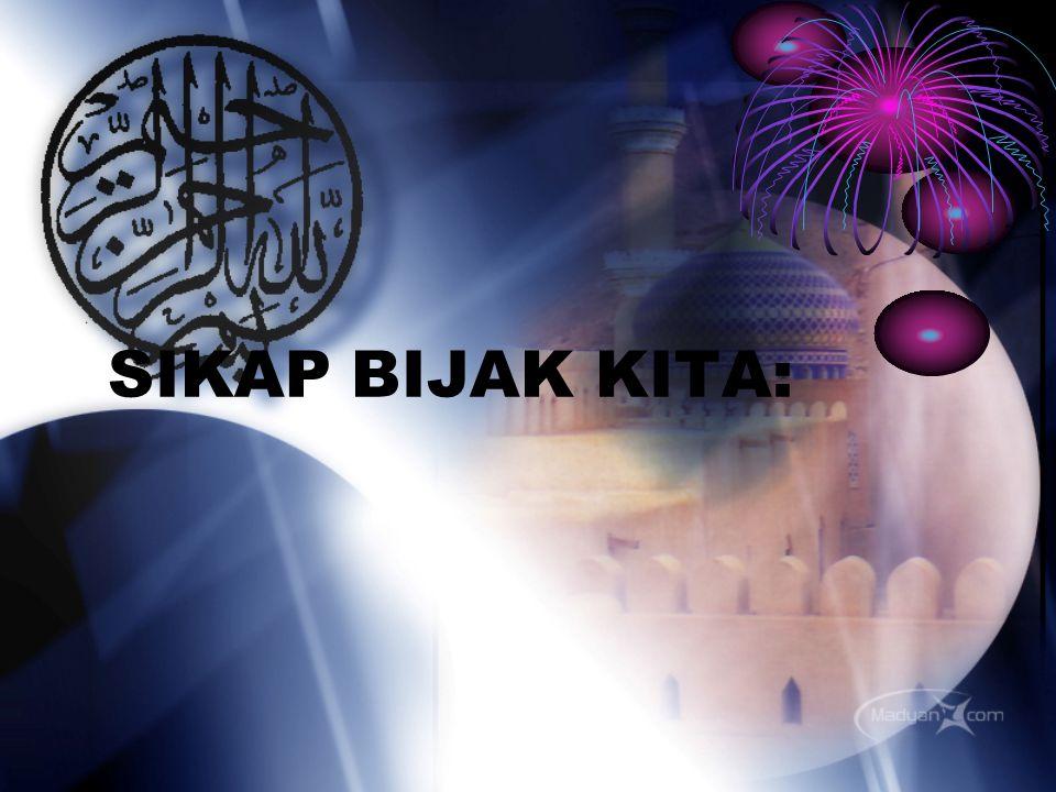 Secara konsepsi: Kesempurnaan Ajaran Islam Secara aplikasi : Dakwah