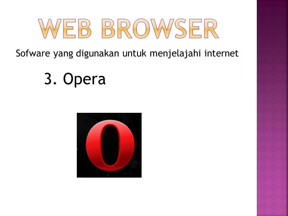 Sofware yang digunakan untuk menjelajahi internet 4. Netscape Navigator