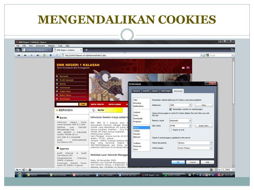Mencari suatu situs diinternet diperlukan alamat tepat, jika belum tahu alamat yang akan dituju dapat menggunakan bantuan aplikasi search engine.