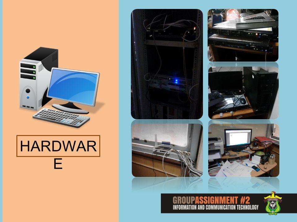 SOFTWAR E Sistem Operasi : Server : LINUX PC Admin / Operator : Windows Program : Website : PHP, My SQL, dll Akses Situs : Chrome, Mozilla, Opera Backup: Acronis Bisa di Akses melalui IP Public & IP Lokal Website SIAKA (http://siaka.unhas.ac.id/)