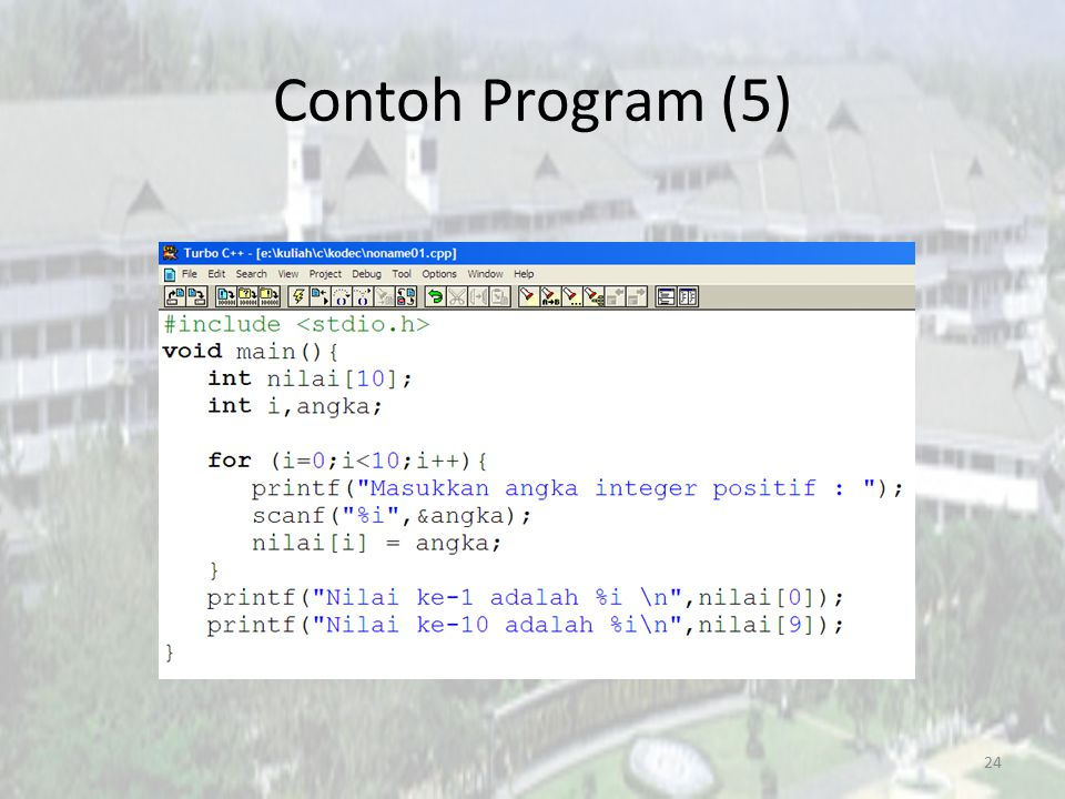 Contoh Program (5) 24