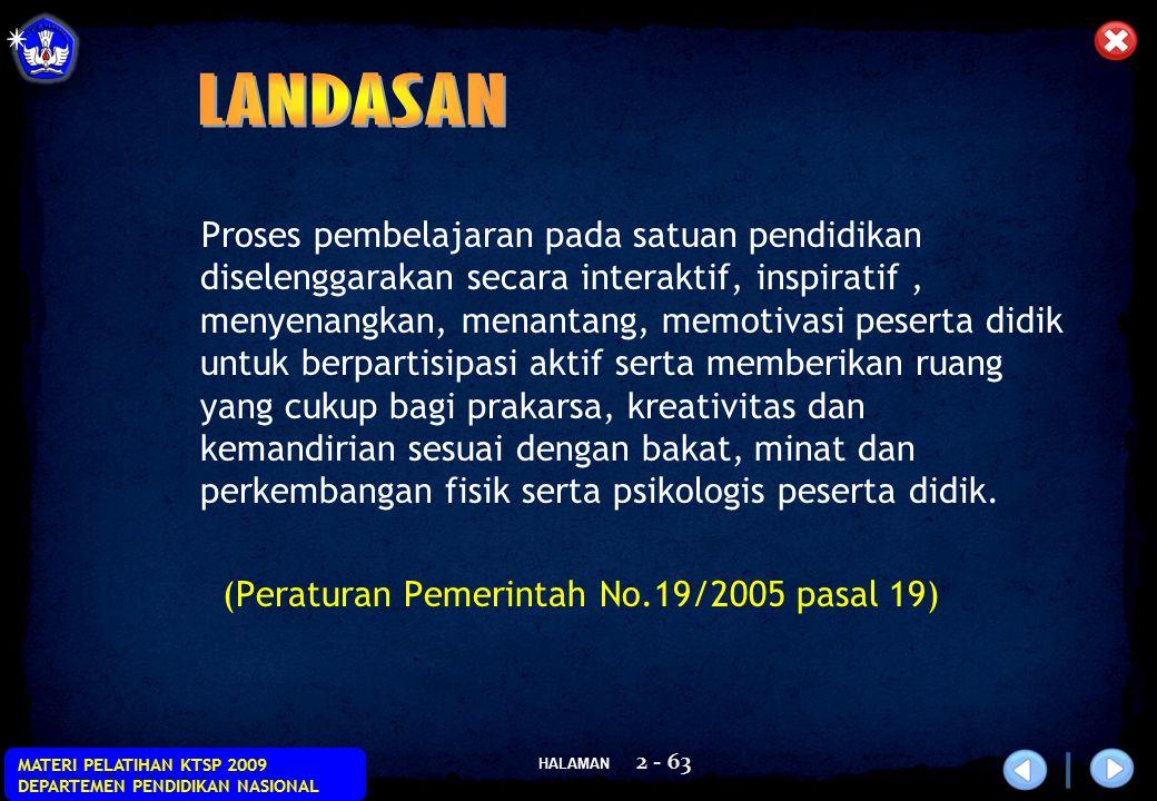 HALAMAN MATERI PELATIHAN KTSP 2009 DEPARTEMEN PENDIDIKAN NASIONAL 53