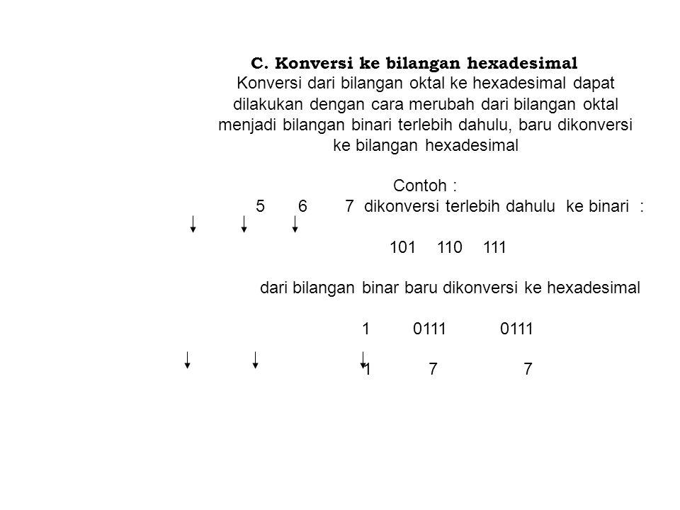 IV.Konversi dari Sistem Bilangan A.