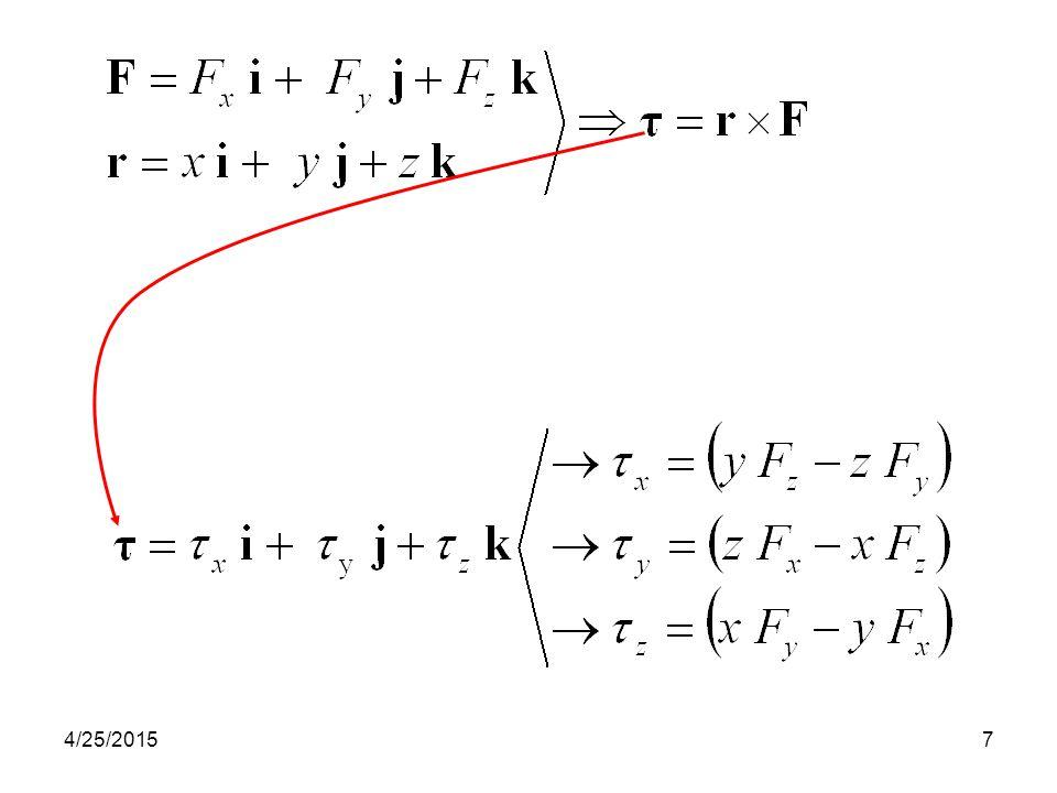 8 Benda m = 6 kg berposisi (vektor), r = (3 t 2 – 6 t) i – 4 t 3 j + (3 t + 2) k, satuan posisi r dinya- takan dalam meter dan t dalam detik.