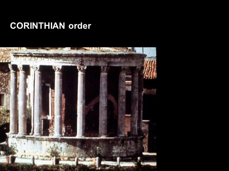 CORINTHIAN order