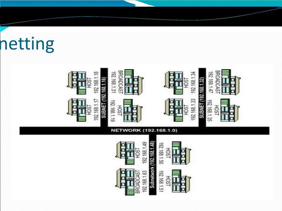 Kita mulai dari yang menggunakan subnetmask dengan CIDR /17 sampai /24.
