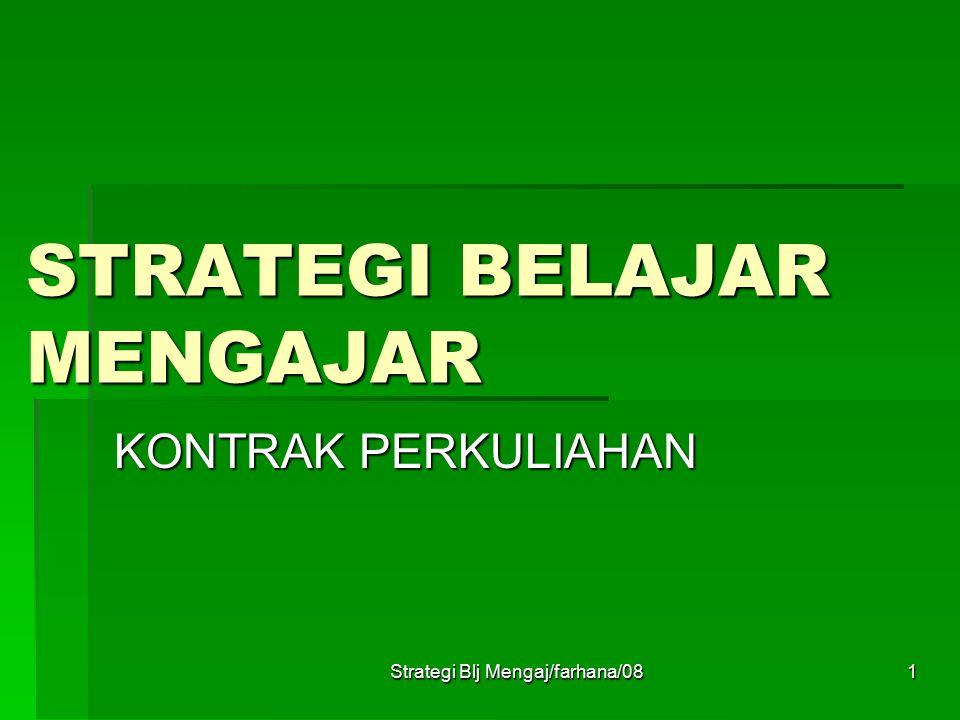 Strategi Blj Mengaj/farhana/0811 11.