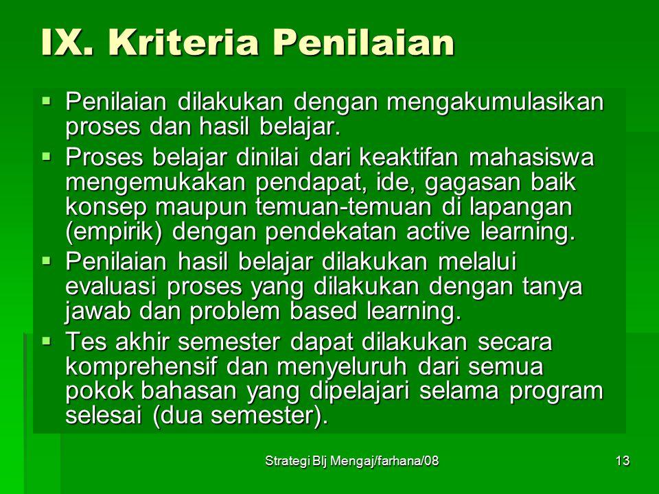 Strategi Blj Mengaj/farhana/0812 VI. Buku Bacaan  Ad Roijackers, Mengajar dengan Sukses, PT Gunung Agung Jakarta  Azhar Arsyad, Media Pengajaran, Ra