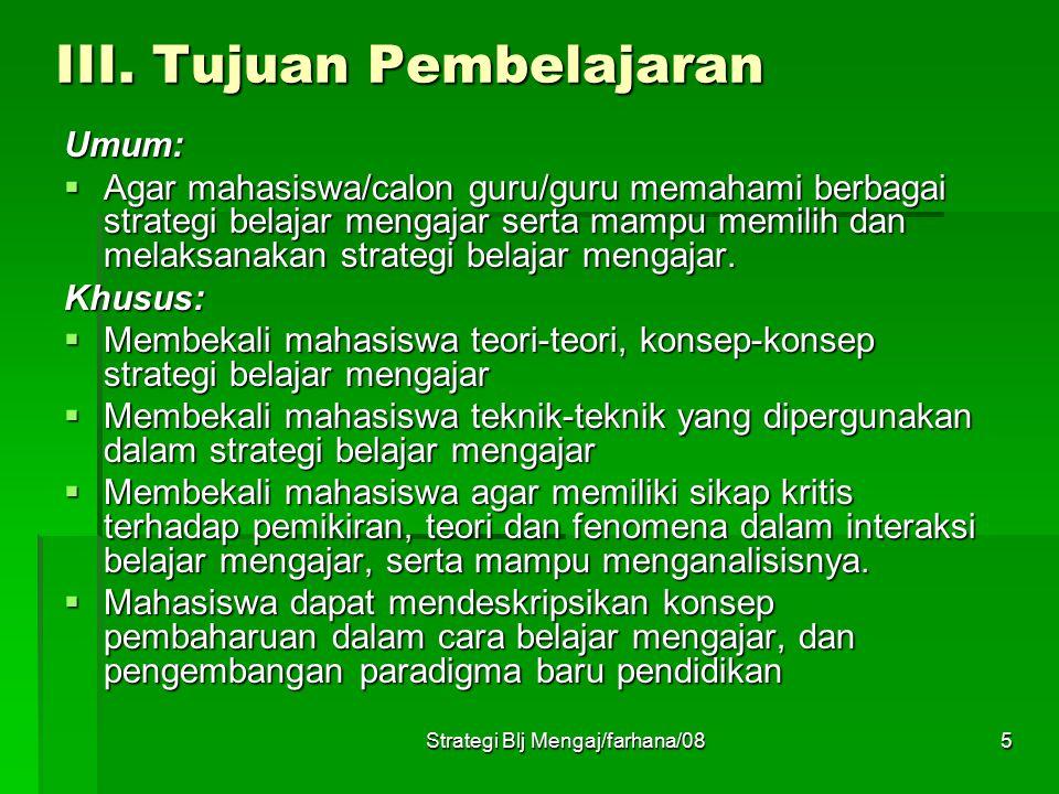 Strategi Blj Mengaj/farhana/085 III.