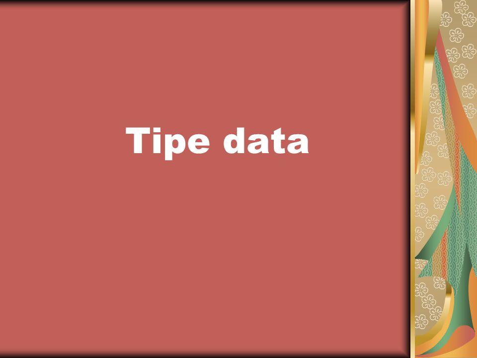 Data adalah fakta atau kenyataan yang tercatat mengenai suatu obyek Fakta merupakan keterangan tentang kenyataan yang disimpan, direkam atau direpresentasikan dalam bentuk tulisan, suara, gambar, sinyal atau simbol Struktur data adalah cara menyimpan atau merepresentasikan data di dalam komputer agar bisa dipakai secara efisien
