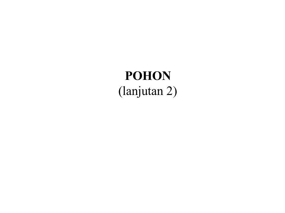 POHON (lanjutan 2)