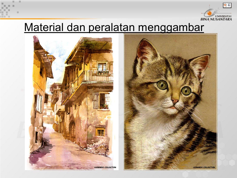 PC dan Macintosh scaner tablet Adobe Photoshop Adobe Illustrator Macromedia Freehand Corel Draw Corel Painter 3 D Material dan peralatan menggambar 02.