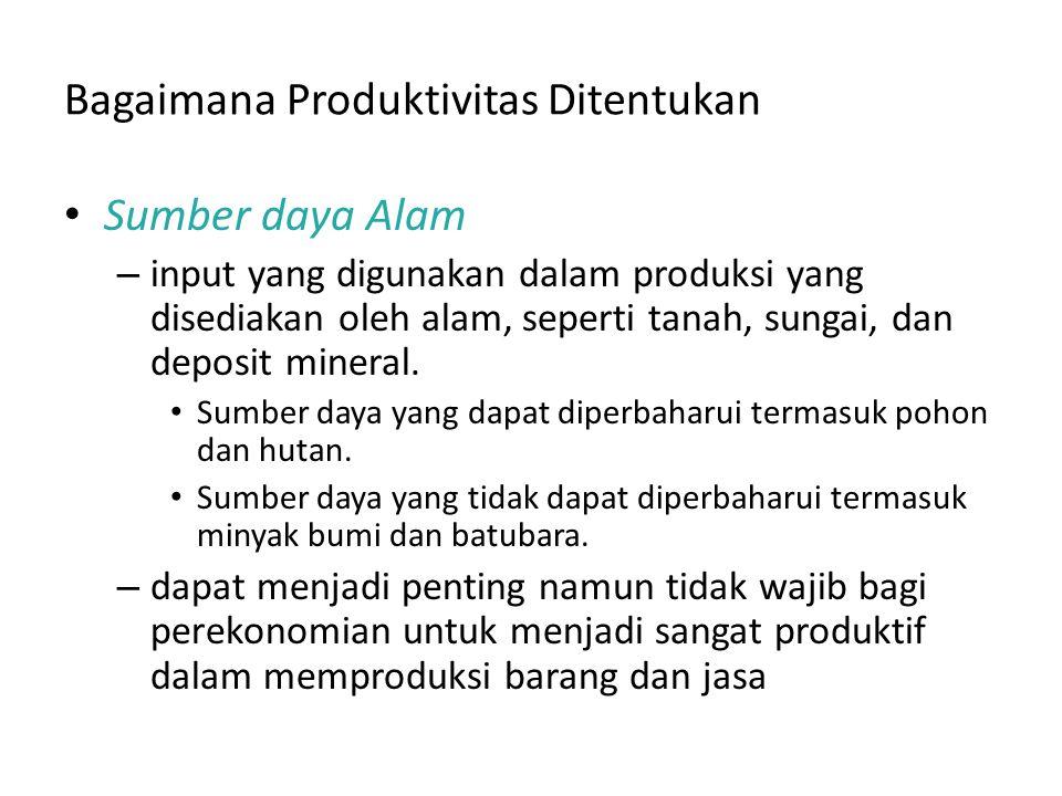 Bagaimana Produktivitas Ditentukan Penguasaan IPTEK – Pemahaman masyarakat tentang cara terbaik untuk menghasilkan barang dan jasa.