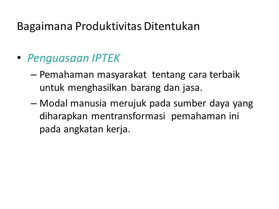 FYI: Fungsi Produksi Para ekonom sering menggunakan fungsi produksi untuk menggambarkan hubungan antara kuantitas input yang digunakan dalam produksi dan jumlah output dari produksi.