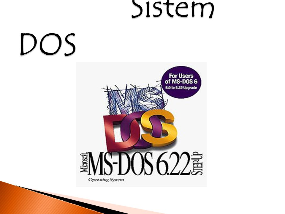 Apa sih ciri ciri system Dos.Bagaimana mulanya sejarah system Dos berawal .