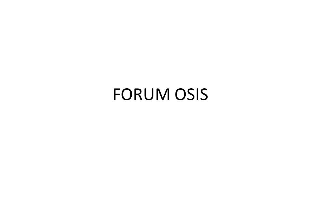 FORUM OSIS
