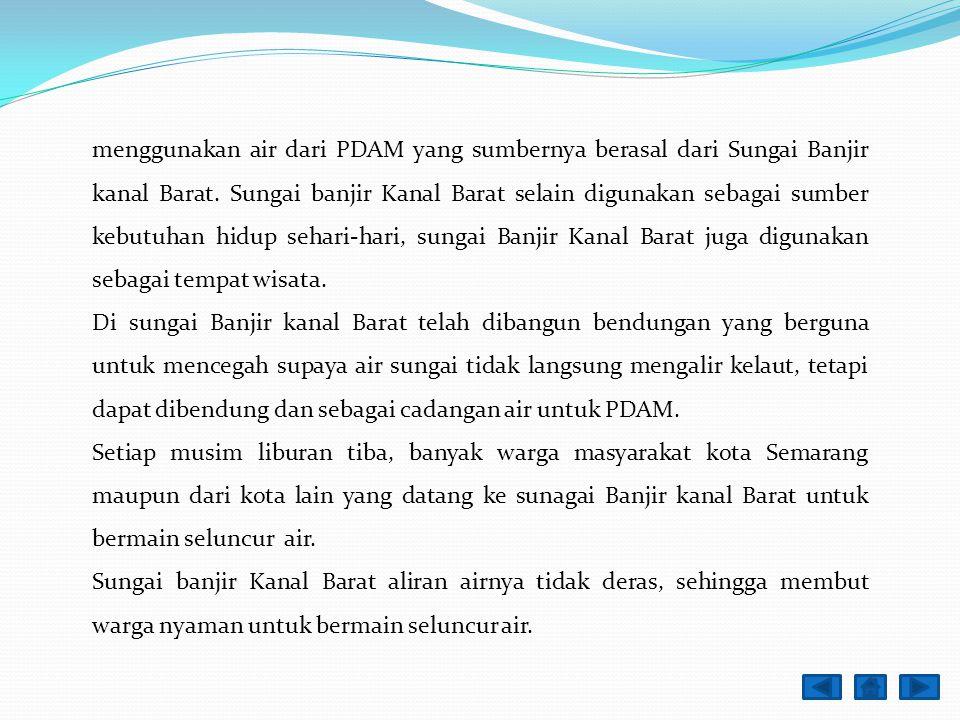Uji Kompetensi ! 1. Deskripsikan isi laporan dibawah ini : Laporan Hasil Kunjungan Nama : Anton Nugroho Objek Kunjungan : Sungai Banjir Kanal Barat Ko