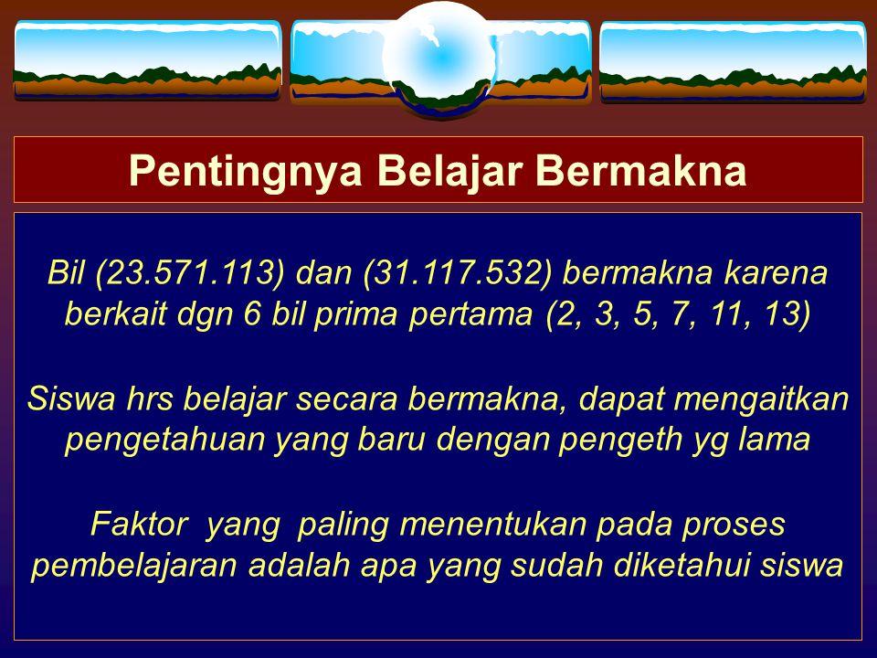 31.117.532 23.571.113 Bilangan mana yang paling mudah diingat.