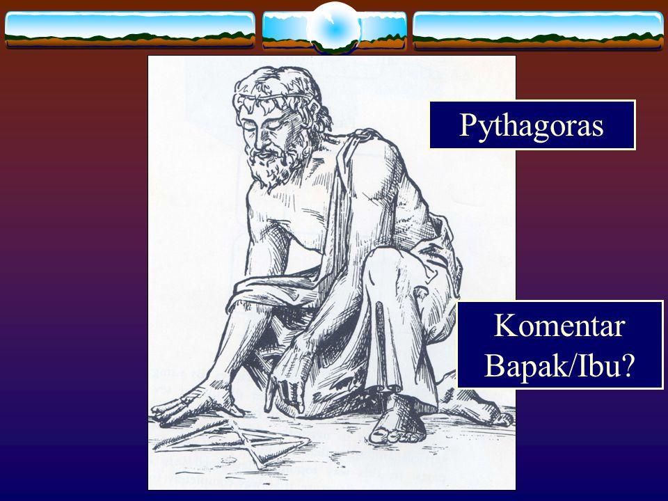 Pythagoras Komentar Bapak/Ibu?