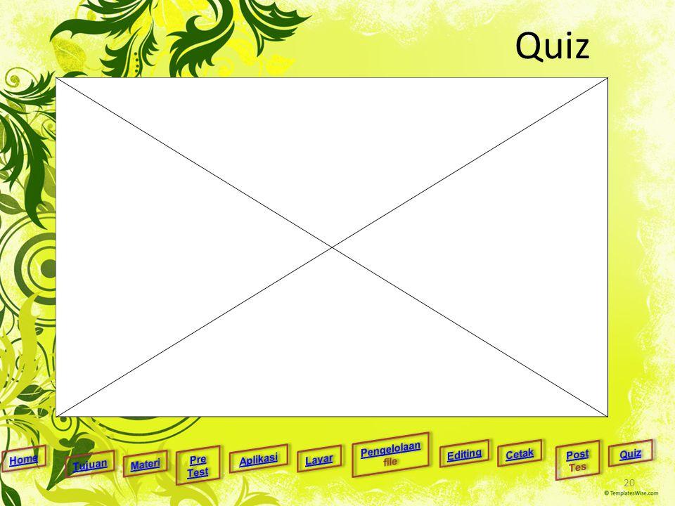 Quiz 20
