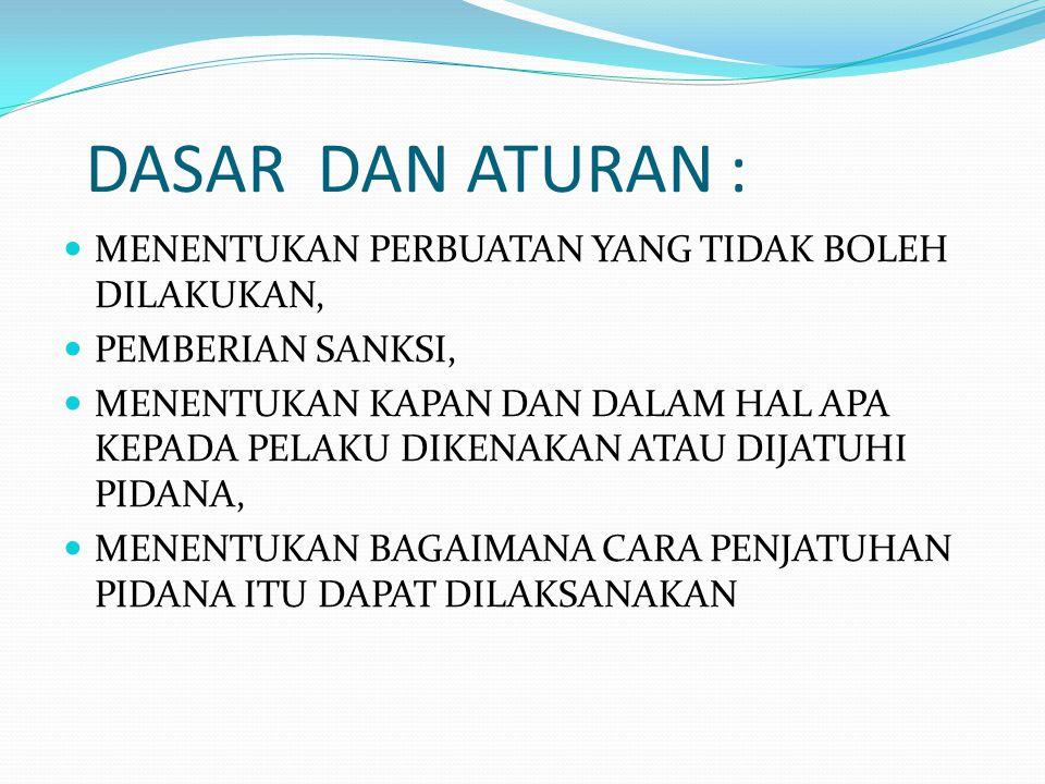 Asas-asas PRADUGA TAK BERSALAH (PRESUMPTION OF INNOCENT) pasal 8 UU no.48 /2009 penjelasan umum butir 3 C KUHAP.