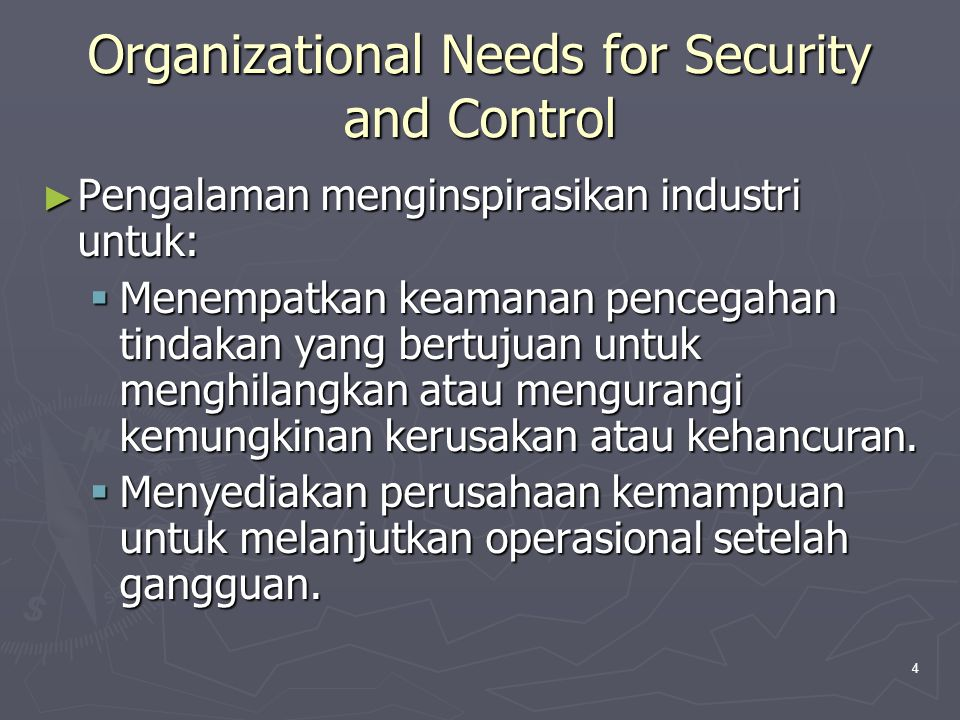 35 Contingency Subplans ► Emergency plan specifies those measures that ensure the safety of employees when disaster strikes.