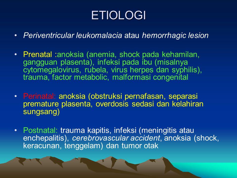 Klasifikasi Cerebral Palsy Gangg.