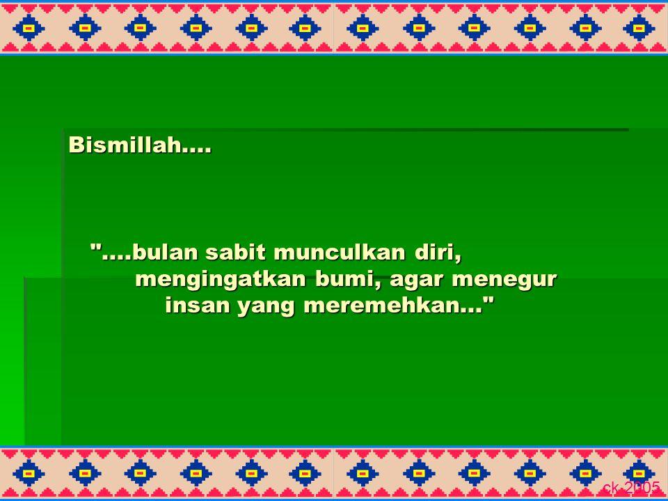 Bismillah....